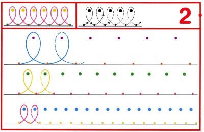 Fichas Grafomotricidad trabajamos la grafia de los números (16)
