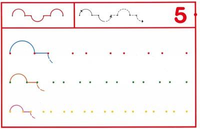 Fichas Grafomotricidad trabajamos la grafia de los números (43)
