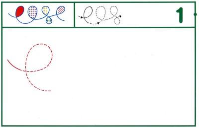 Fichas Grafomotricidad trabajamos la grafia de los números (5)