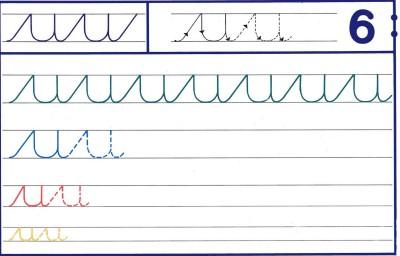 Fichas Grafomotricidad trabajamos la grafia de los números (53)