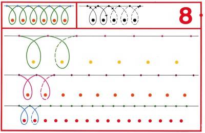 Fichas Grafomotricidad trabajamos la grafia de los números (70)