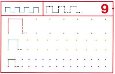 Fichas Grafomotricidad trabajamos la grafia de los números (78)