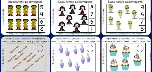 Mini cuaderno de Ejercicios de Matemáticas conteo-sumas-restas ...