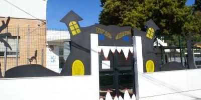 Halloween Aulas pasillos y exteriores (8)