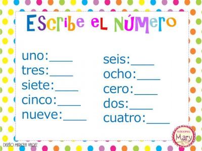 Librito para practicar los números del 1 al 9 (35)