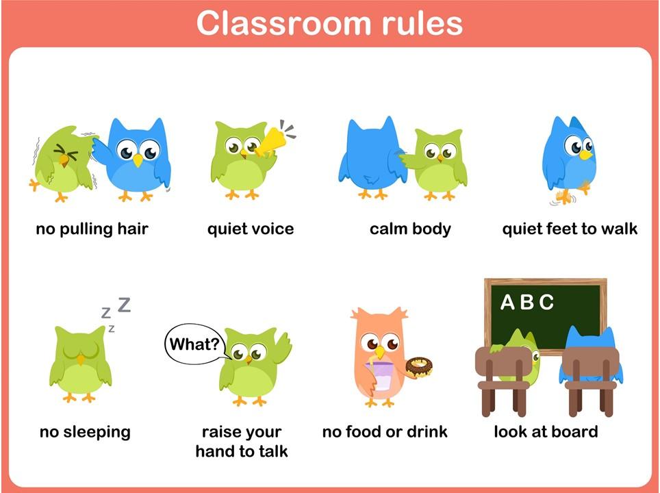 Normas de clase 5 imagenes educativas for 10 reglas para el salon de clases en ingles