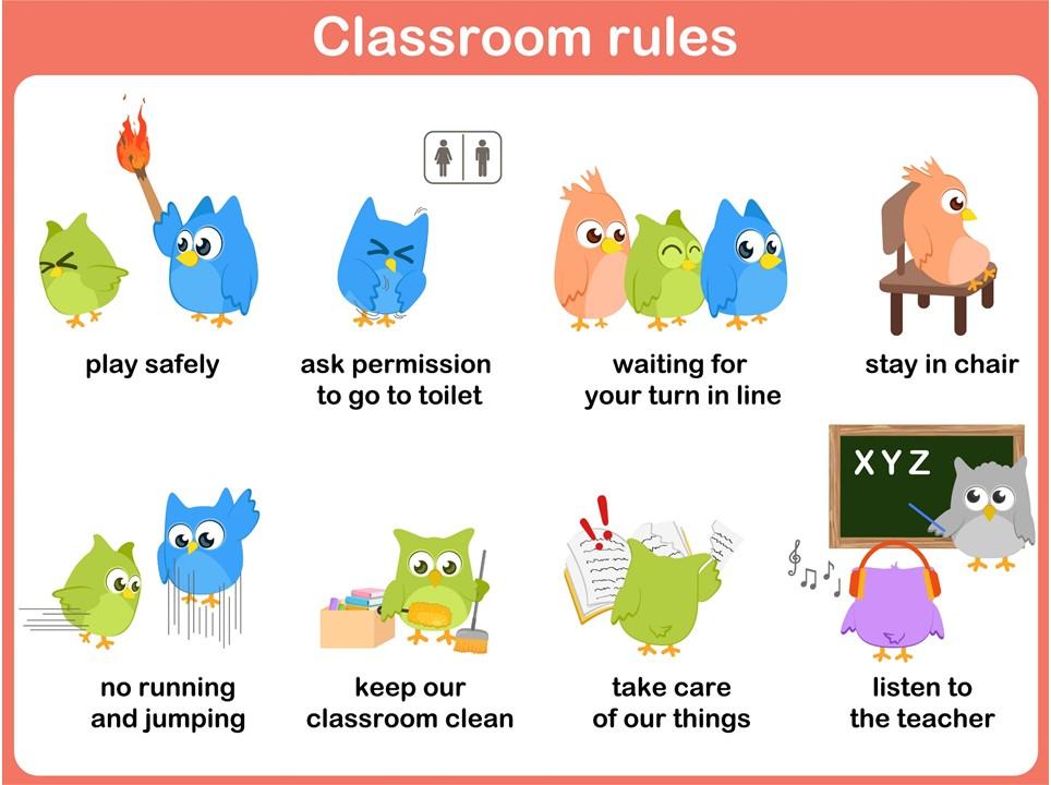Normas de clase 6 imagenes educativas for 10 reglas del salon de clases en ingles