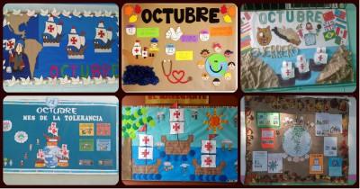 Periodico mural octubre vuestras propuestas Portada