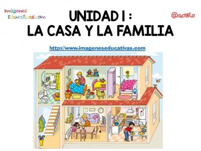 Vocabulario Temático centro de interés casa y familia (1)