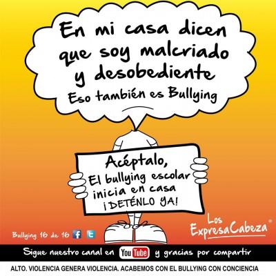 """bullying según """"los expresa Cabeza"""" (15)"""