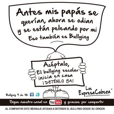 """bullying según """"los expresa Cabeza"""" (9)"""