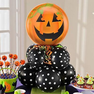 "ideas para decorar con globos para niños ""Halloween"" (12)"