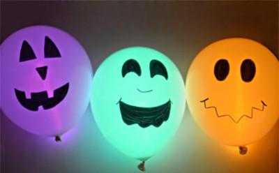 "ideas para decorar con globos para niños ""Halloween"" (9)"