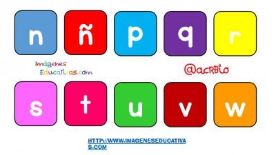 Abecedario diferentes formatos y tipos de letras (8)
