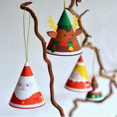 Adornos arbol de navidad manualidades diy (35)