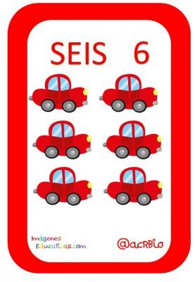 Cartas juguetes números (6)
