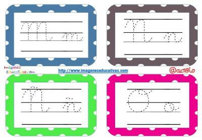 Librito de trazos formato llavero Mestra 4 enlazada (4)