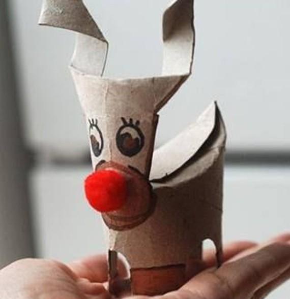 Manualidades Navidad Rollos Papel 32 Imagenes Educativas - Manualidades-de-navidad-de-papel