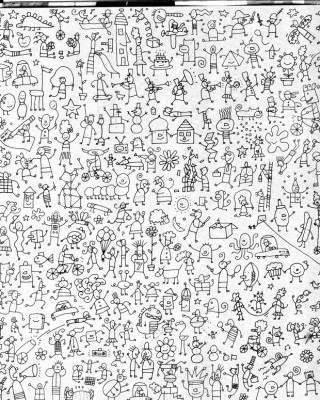 Mosaicos para discriminación visual  (10)
