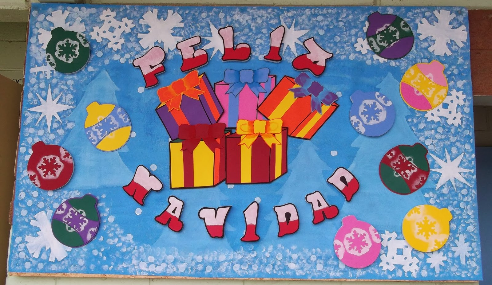 Periodico mural diciembre 5 imagenes educativas for Murales infantiles para preescolar