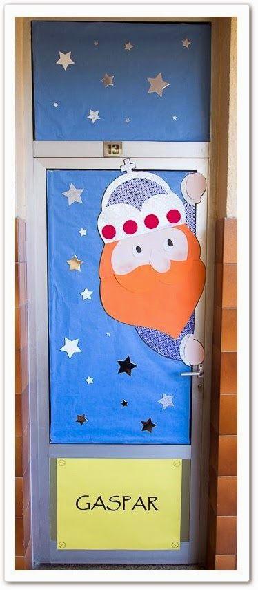 Puertas navidad 2 imagenes educativas - Decorar puertas navidad ...