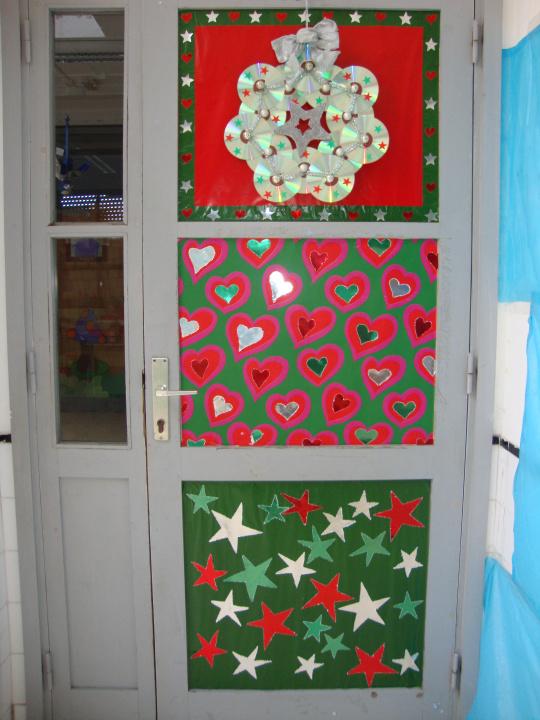 puertas navidad 6 imagenes educativas