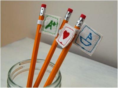 Adornos para lápices Diy (2)