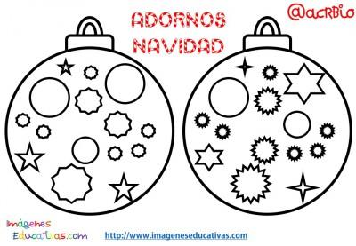 Bolas de navidad colorear (12)