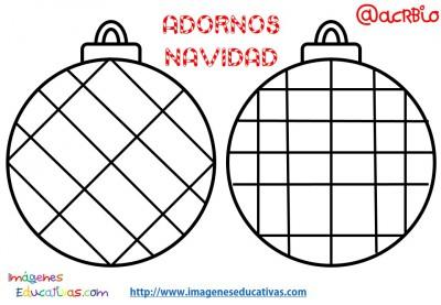 Bolas de navidad colorear (15)