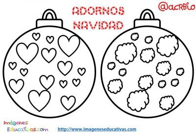 Bolas de navidad colorear (7)