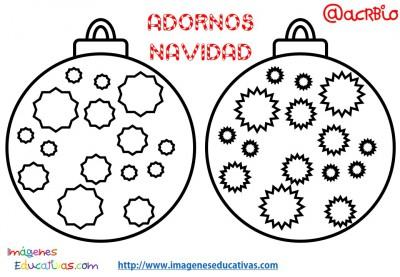 Bolas de navidad colorear (8)
