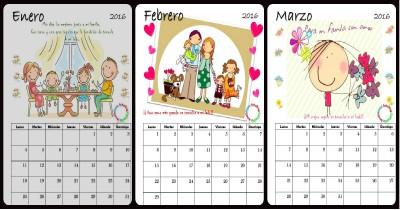 Calendario 2016 Portada