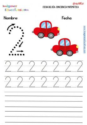 Fichas para trabajar los números (11)