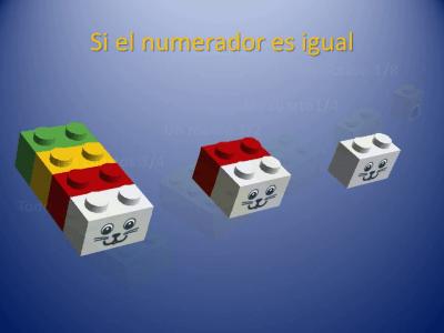 Fracciones con piezas de Lego (11)