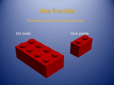 Fracciones con piezas de Lego (2)