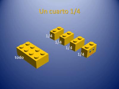 Fracciones con piezas de Lego (6)