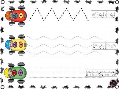 Grafomotricidad números (3)