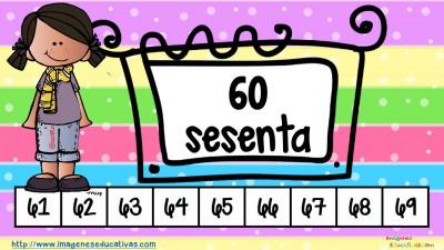 Los números tarjetas para repasar (7)