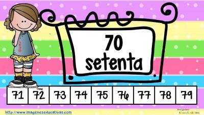 Los números tarjetas para repasar (8)
