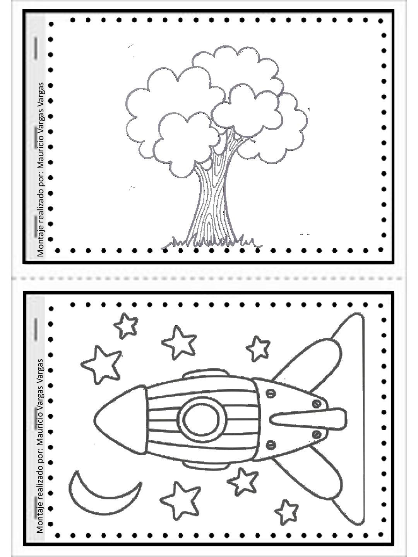 Mi pequeño gran libro para colorear y dibujar (6) - Imagenes Educativas