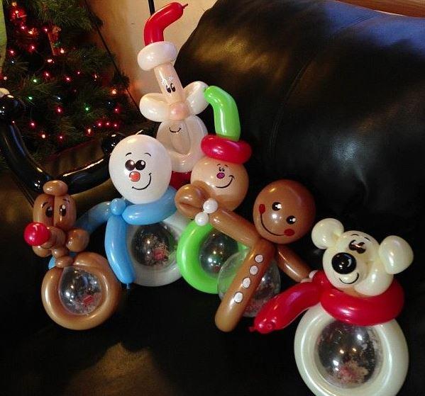 Navidad globos decoracion 11 imagenes educativas - Decoracion de navidad para ninos ...