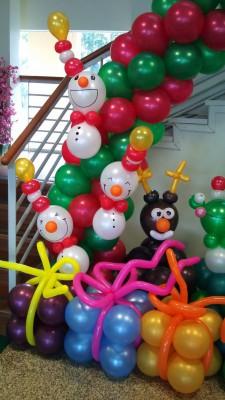 Navidad Globos decoracion (13)