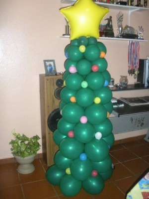 Navidad Globos decoracion (23)