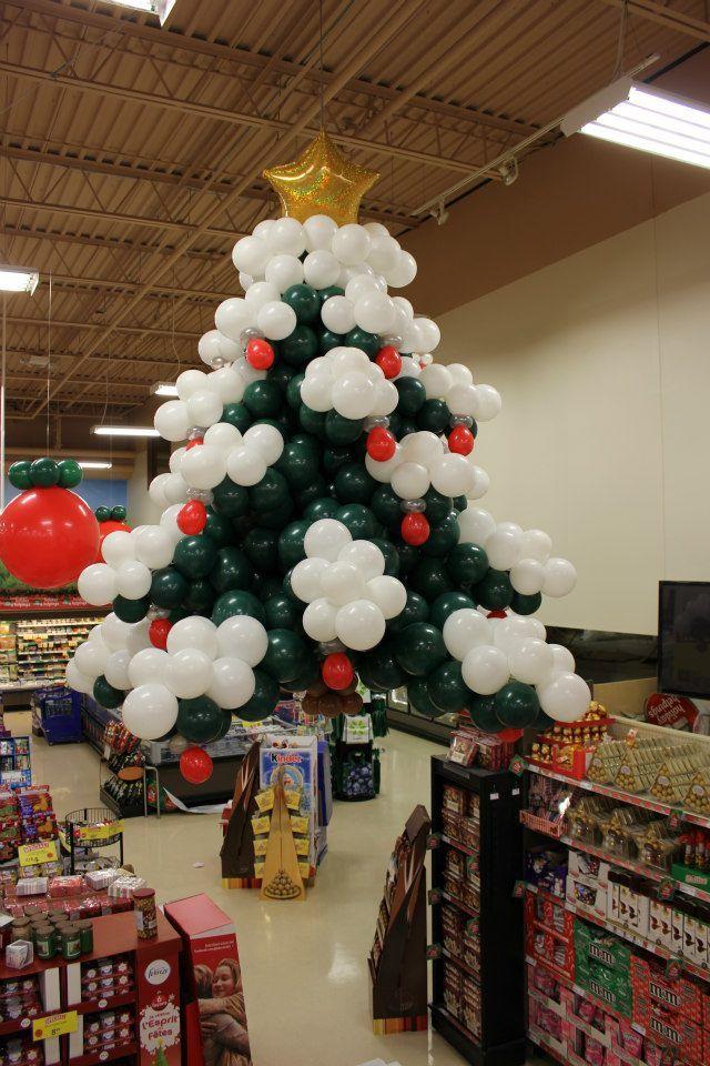 Navidad globos decoracion 4 imagenes educativas for Decoracion navidena con ninos