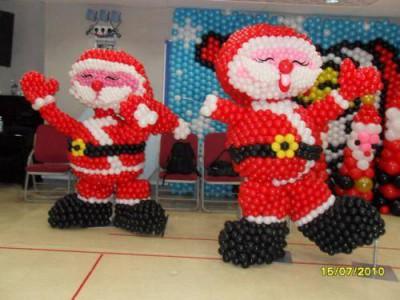 Navidad Globos decoracion (5)