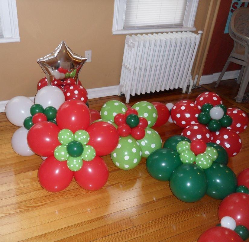 Navidad globos decoracion 7 imagenes educativas - Decoracion fiesta navidad ...
