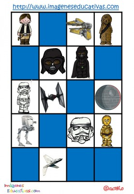 STAR WARS BINGO (10)