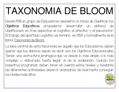 TAXONOMIA DE BLOOM  (1)