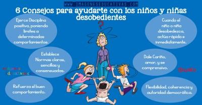 6 Consejos para ayudarte con los niños y niñas desobedientes (1)