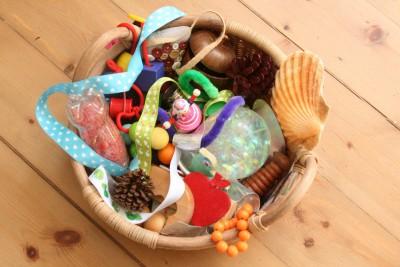 Caja de los tesoros Montessori 2